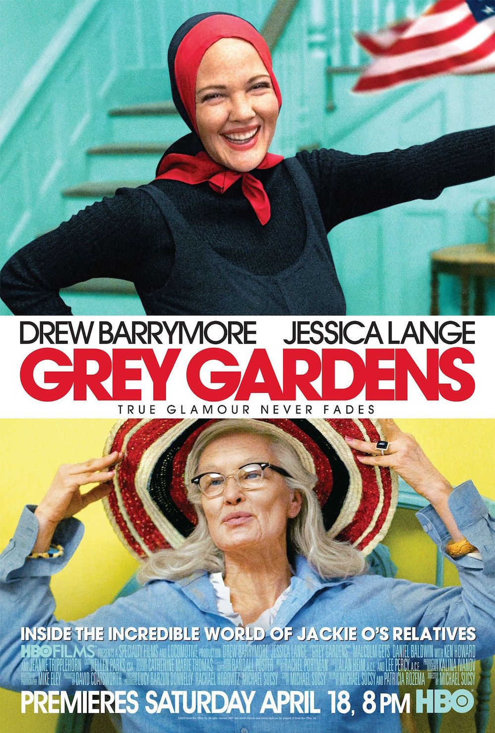 "Poster of ""Grey Gardens"" © HBO"