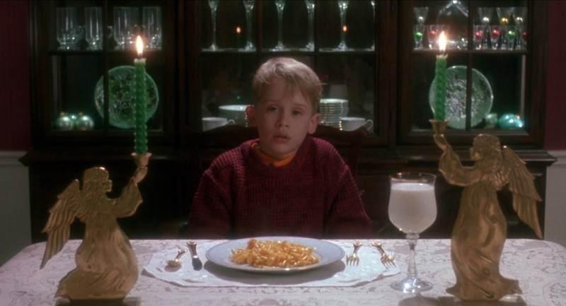 Mac and Cheese in Home Alone