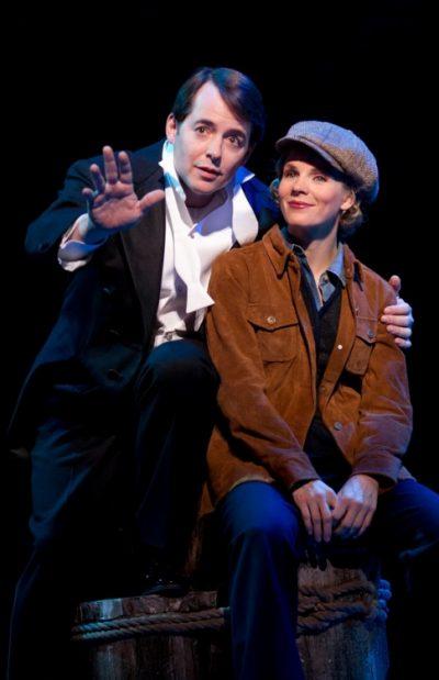 Kelli O'Hara and Matthew Broderick 1