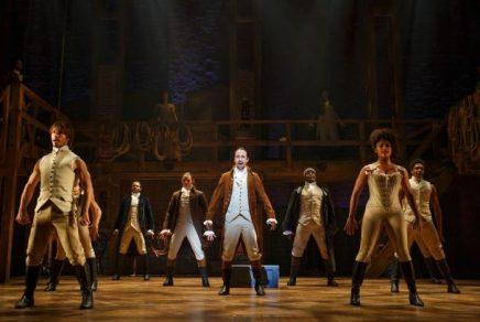 チャリティオークション開催中:シカゴでミュージカルHamiltonを見て、オープニングナイトパーティでリン=マヌエル・ミランダに会う!