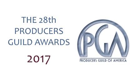 第28回全米製作者組合賞(2017 PGA Awards)受賞者発表