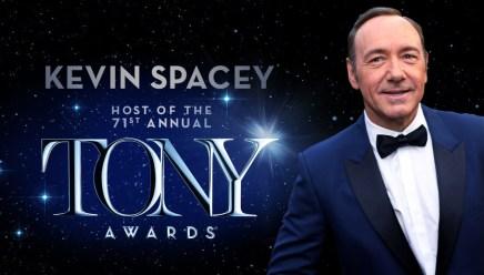 ケヴィン・スペイシー、第71回トニー賞のホストに決定!