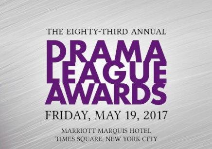 第83回ドラマ・リーグ・アワード(2017 Drama League Awards)ノミネーション発表!