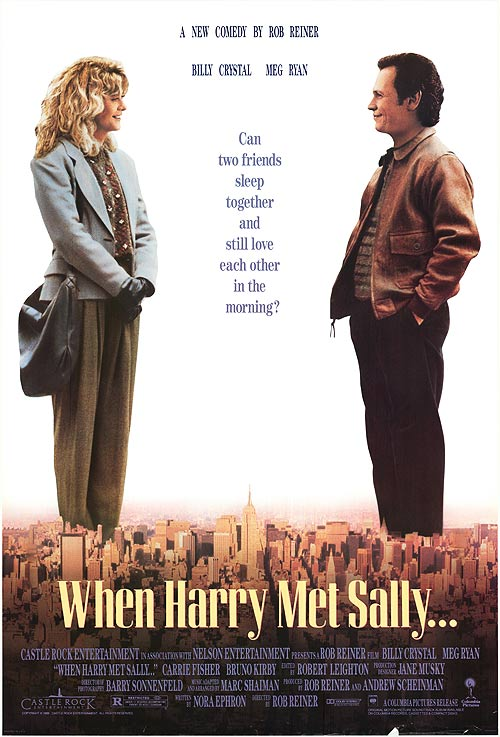 Theatrical Poster of 'When Harry Met Sally...'