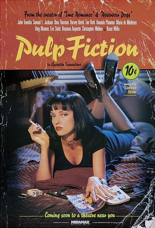 Poster of 'Pulp Fiction'