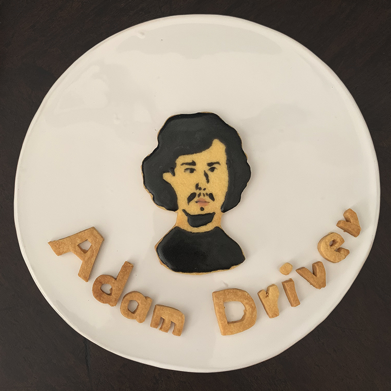 Cookie Art - Adam Driver